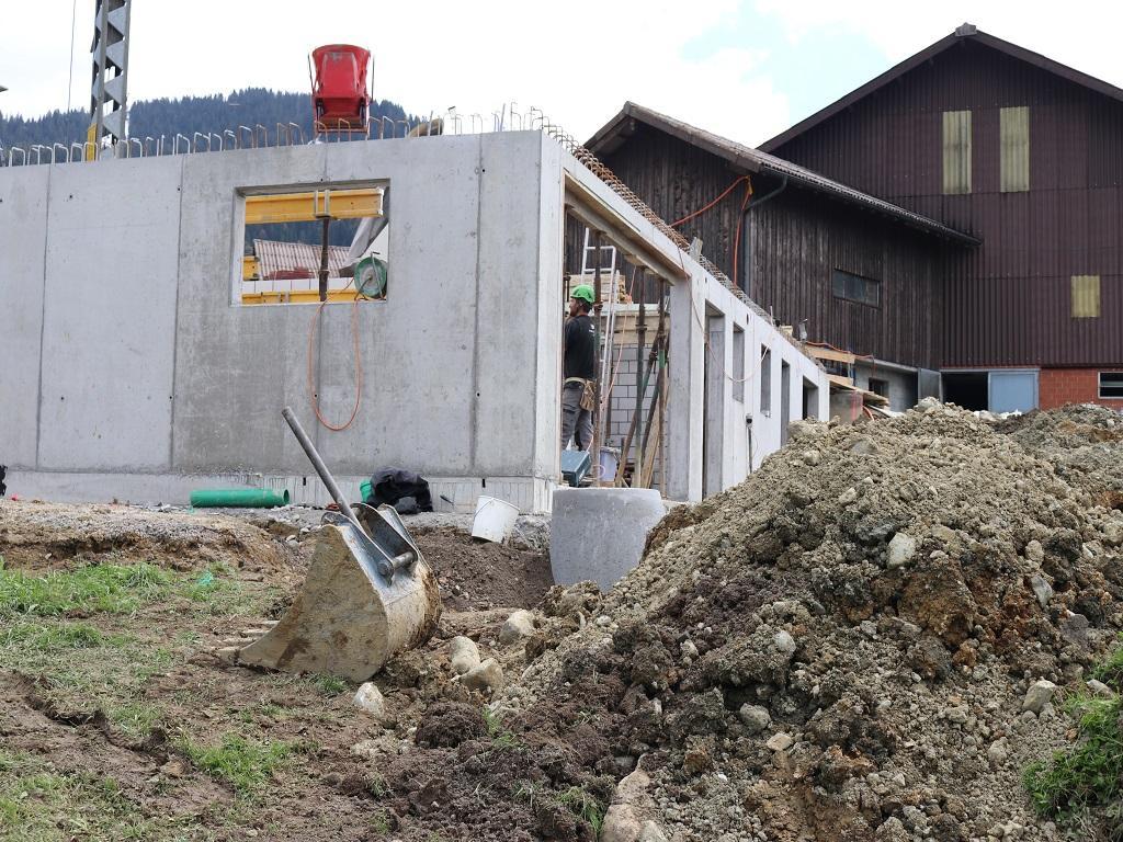 Neubau Betriebsleiter-Wohnhaus, Vorderthal (13)