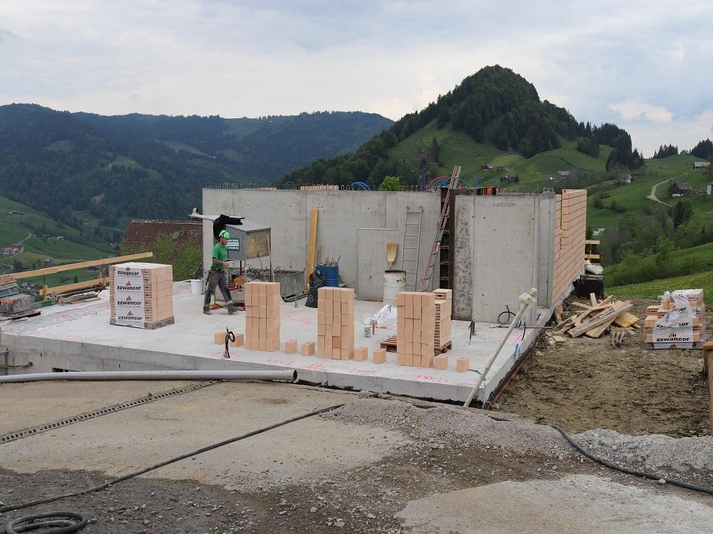 Neubau Betriebsleiter-Wohnhaus, Vorderthal (15)