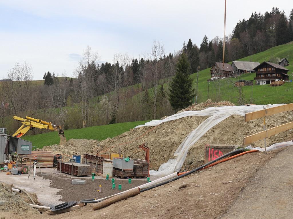 Neubau Betriebsleiter-Wohnhaus, Vorderthal (2)