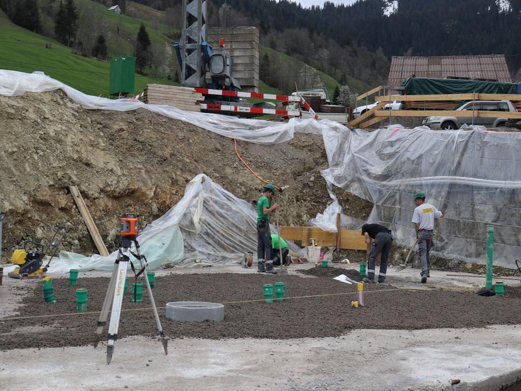 Neubau Betriebsleiter-Wohnhaus, Vorderthal (3)