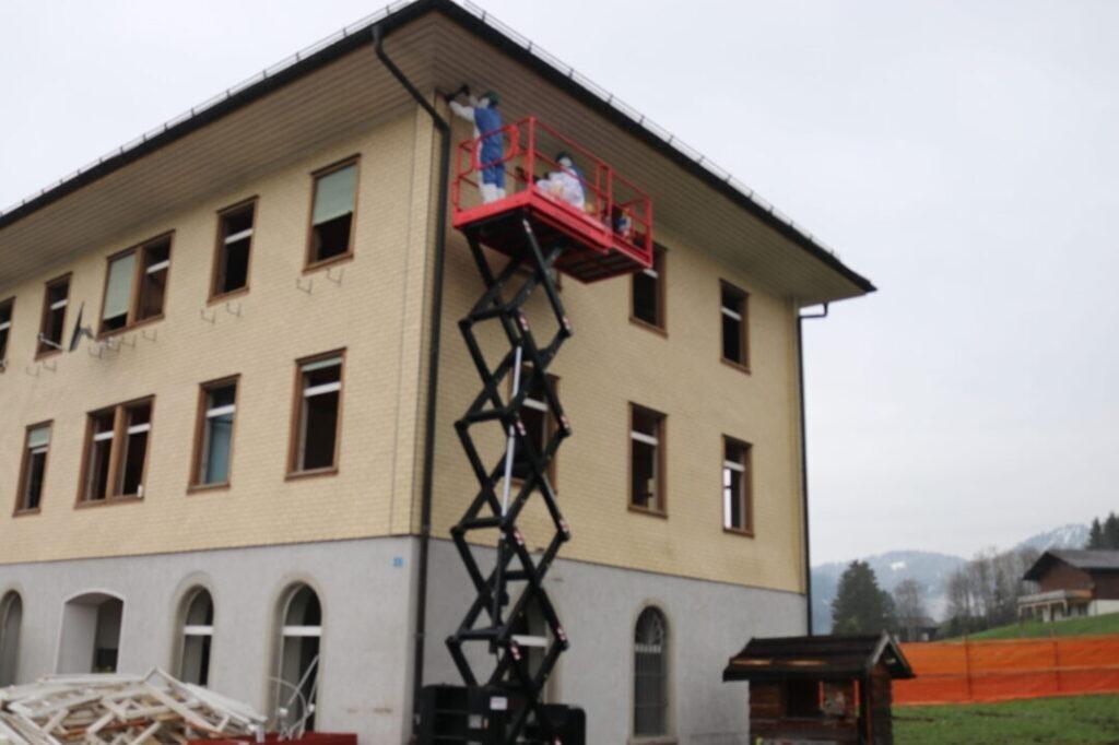 Ersatzbau Altes Schulhaus, 8843 Oberiberg (1)