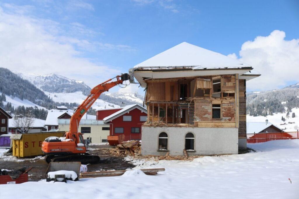Ersatzbau Altes Schulhaus, 8843 Oberiberg (10)